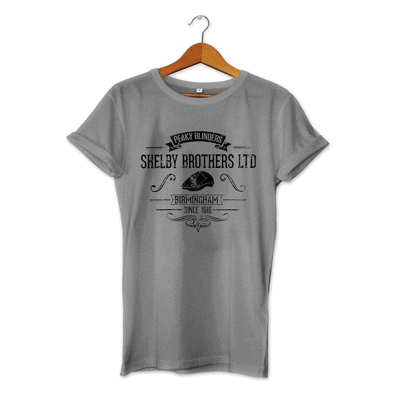 abb73778 Shelby Brothers - Peaky Blinders Inspired T-Shirt: Amazon.co.uk: Clothing