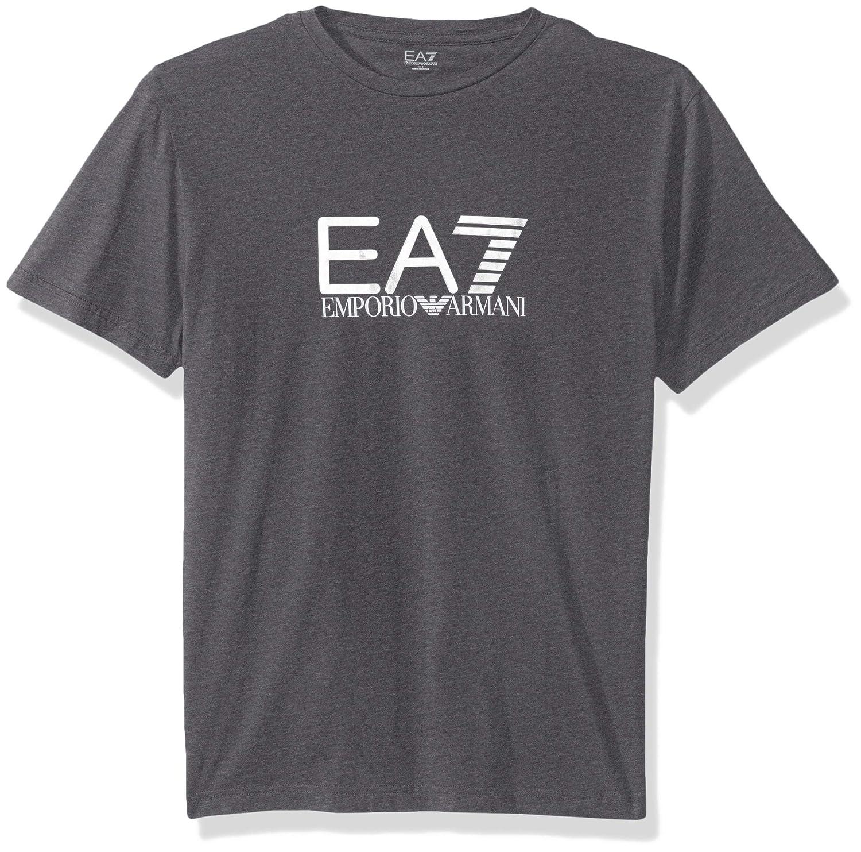 c7cc20e485 Amazon.com: Emporio Armani EA7 Men's Train Visibility Logo Crew Neck ...