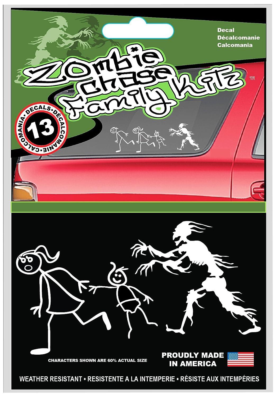 CHROMA 099354 Zombie Anti Family Decal Kit