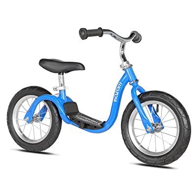 KaZAM v2s No Pedal Balance Bike, 12-Inch, Metallic Bright Blue: Sports & Outdoors