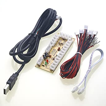 Reyann Zero Delay Arcade USB Encoder Board PC um 5 Pin Joystick ...