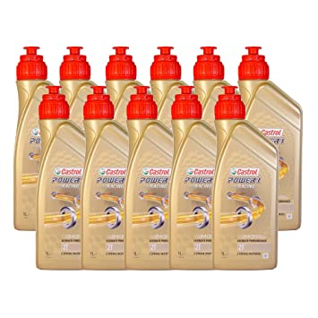 Ricambi Russo Aceite Motor Moto CASTROL Power 1 Racing 2T L 11 ...