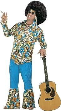 Sancto - Disfraz de hippie años 60s para hombre, talla 60 (4936K ...