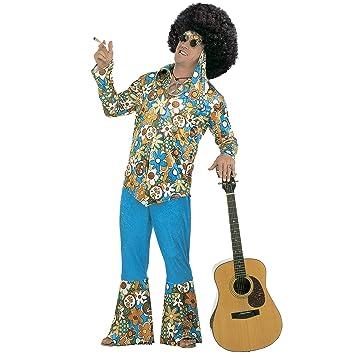 WIDMANN Widman - Disfraz de hippie años 60s para hombre, talla L ...