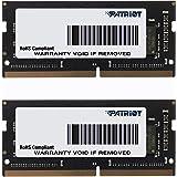 PATRIOT パトリオットメモリ ノートパソコン用メモリ SODIMM DDR4 2666MHz PC4-21300 16GB (8GBx2枚組) CL19 PSD416G2666SK