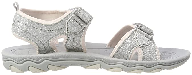 8ff9f61315b Hummel Unisex Kids' Glitter Jr Ankle Strap Sandals, Silver: Amazon.co.uk:  Shoes & Bags