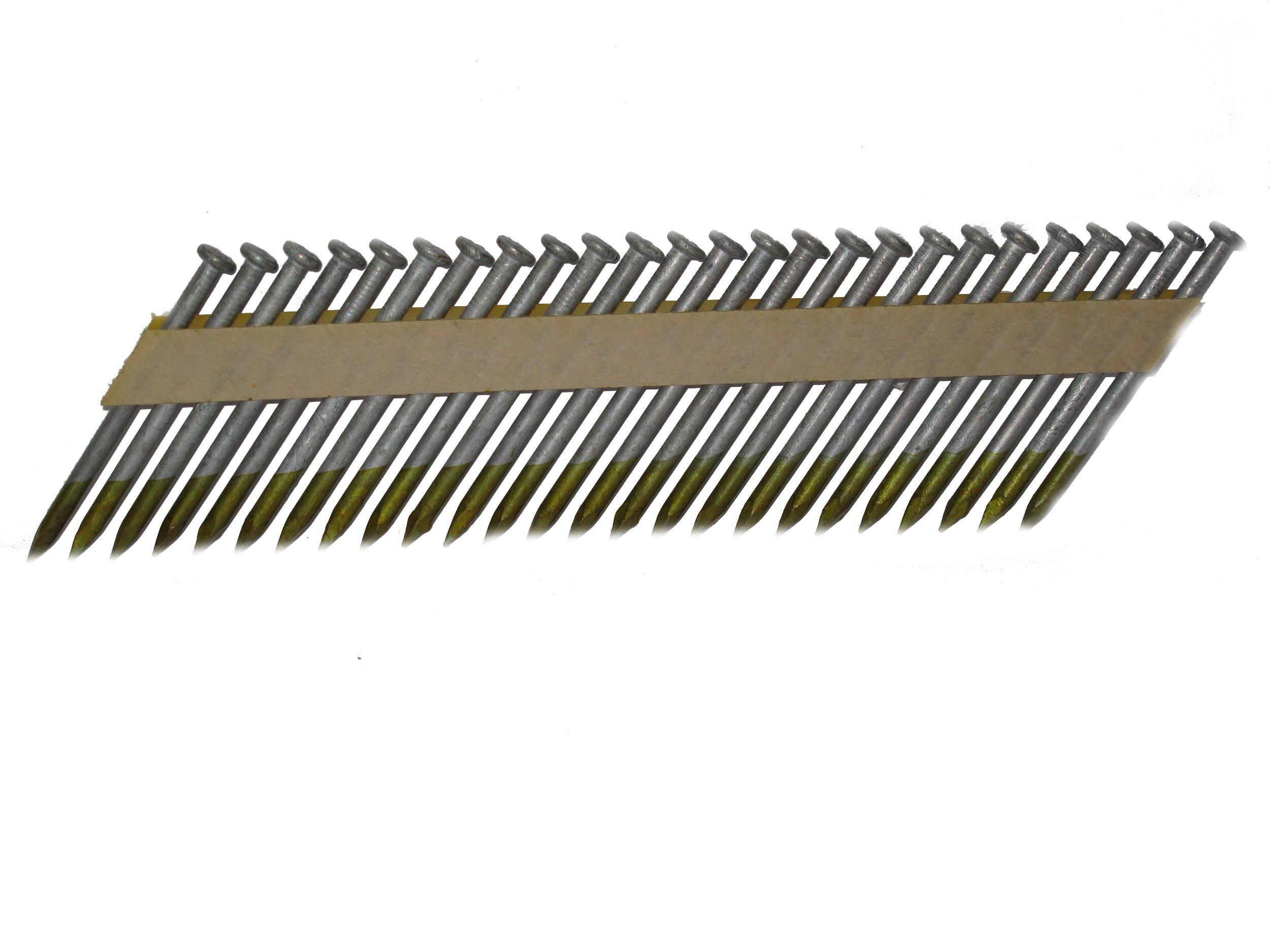 Pneu-Tools 922425 2-1/2-Inch by 0.148 30-33 Degree Hot Dipped Galvenized Joist Hanger Nails 1,500/Box