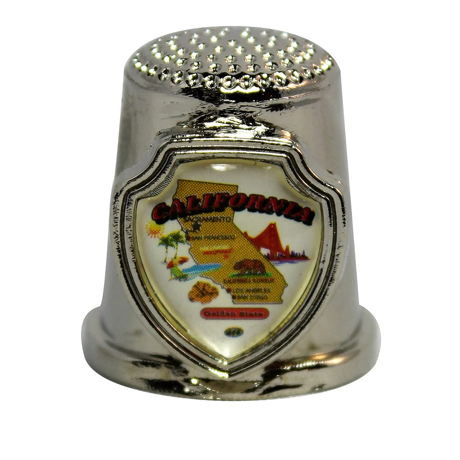Souvenir Thimble - California - CA 646