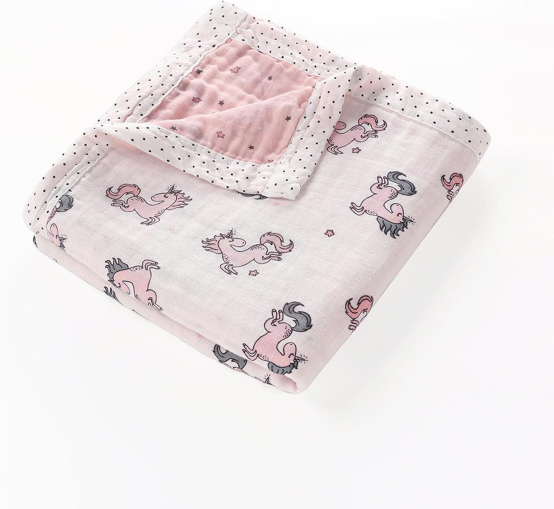Lat Lee and Town - Manta de muselina de algodón suave para bebé ...