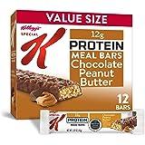 Special K 蛋白质餐棒,巧克力花生酱口味,19盎司/540克(12件)