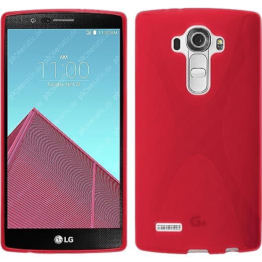 7 opinioni per PhoneNatic Custodia LG G4 Cover rosso X-Style G4 in silicone + pellicola