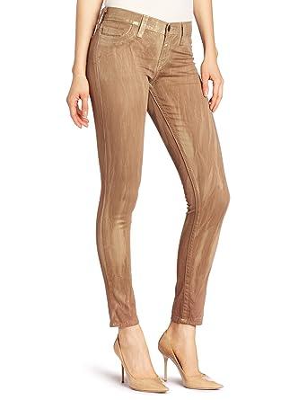 b4f617b3ed80cb True Religion Women's TRBJ Halle Super Skinny Denim Legging in Blackberry  at Amazon Women's Clothing store: Jeans