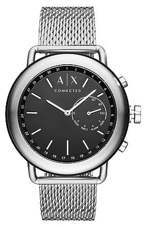 c35d136e6896 Armani Exchange Reloj Analogico para Hombre de Cuarzo con Correa en Acero  Inoxidable AXT1020  Amazon.es  Relojes
