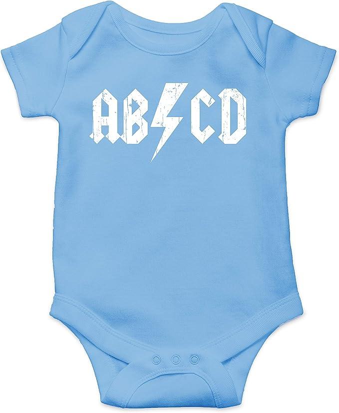 Amazon.com: ABCD Alphabet Rock and Roll - Body de manga ...