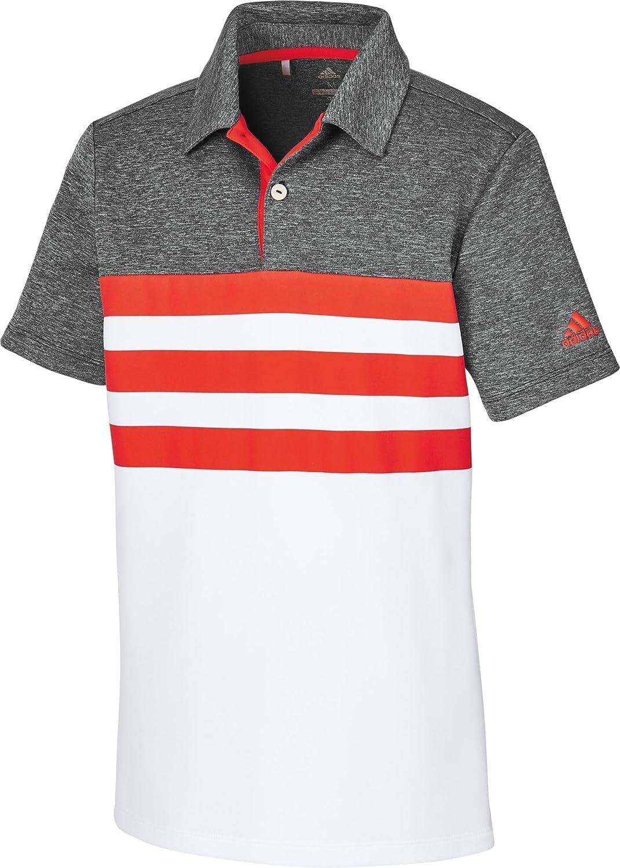 adidas CD9972 Polo de Golf, Niños, Rojo, S: Amazon.es: Ropa y ...