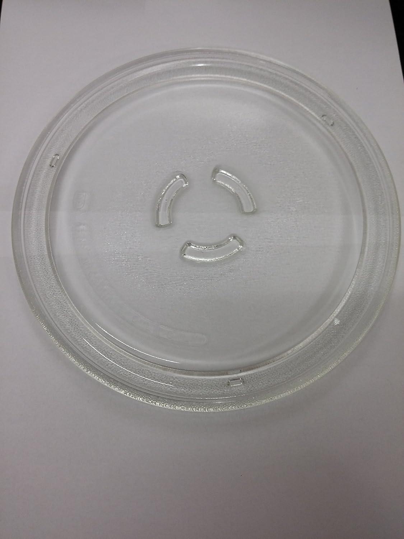 Plato giratorio de cristal 25 cm para horno microondas Whirlpool ...