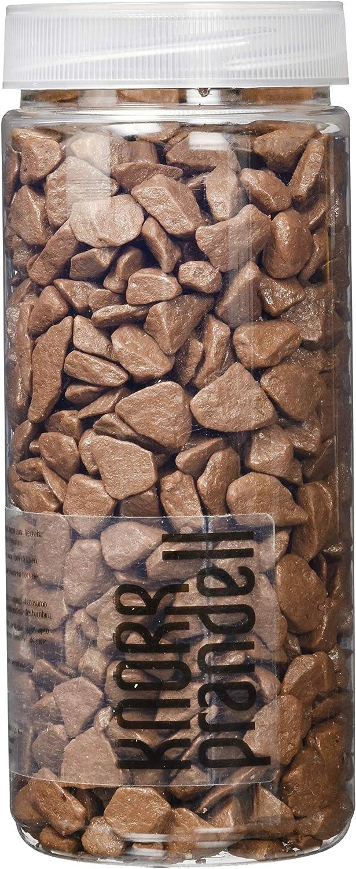 Knorr Prandell 218236215 piedras decorativas 9 – 13 mm, 500 ml, color: marrón: Amazon.es: Oficina y papelería