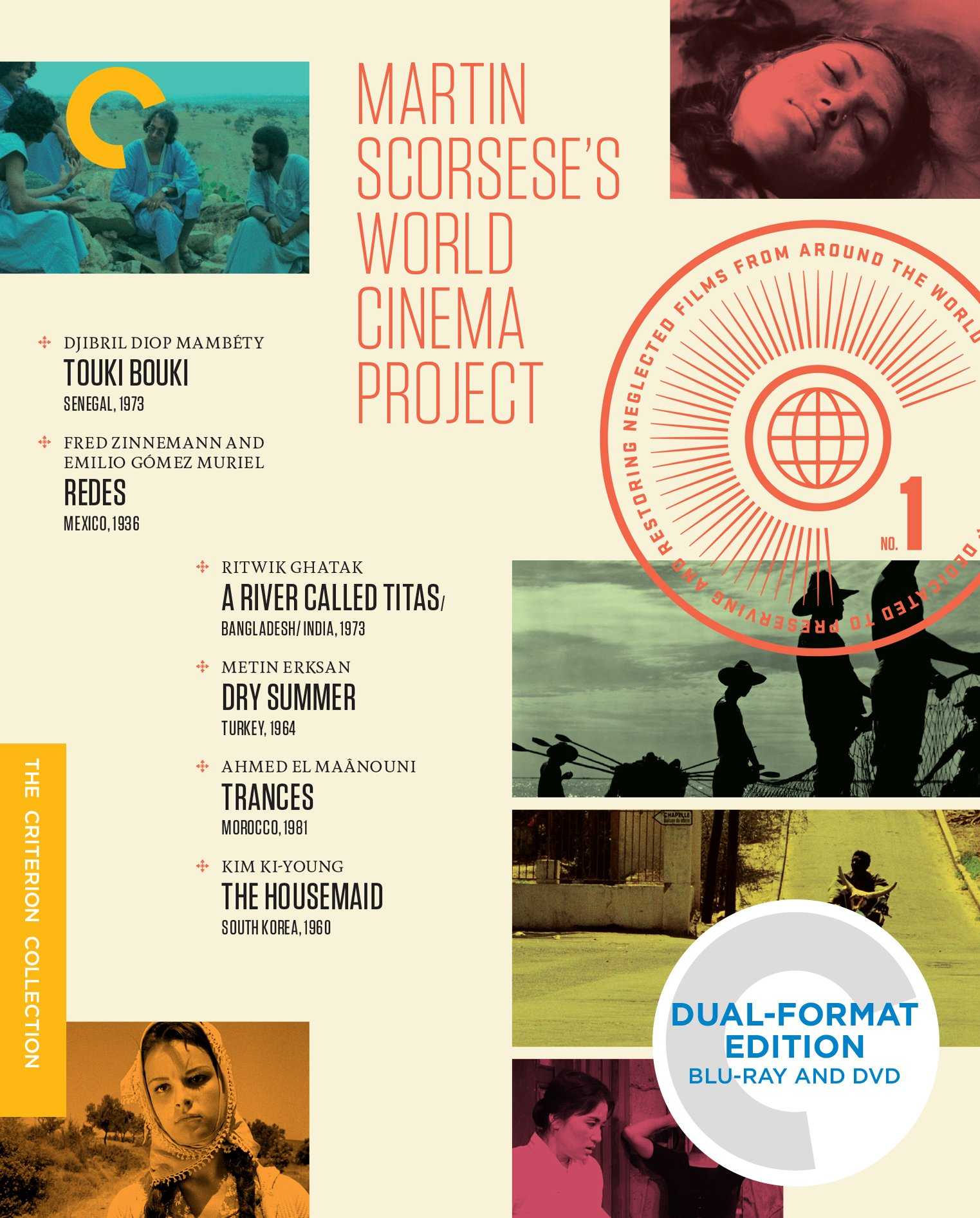 Martin Scorsese's World Cinema Project (Touki Bouki / Redes / A River Called Titas / Dry Summer / Trances / The Housemaid) (Criterion Collection) (Blu-ray + DVD) by Criterion