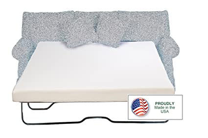 Charmant Sleeper Sofa Memory Foam Mattress Queen 60 X 72 X 4.5