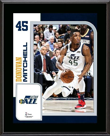 22f080380 Donovan Mitchell Utah Jazz 10.5 quot  x 13 quot  Sublimated Player Plaque -  NBA Team Plaques