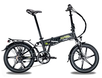 Bicicleta eléctrica plegable swies 16 blanco – batería: Panasonic 36 V – 11,6
