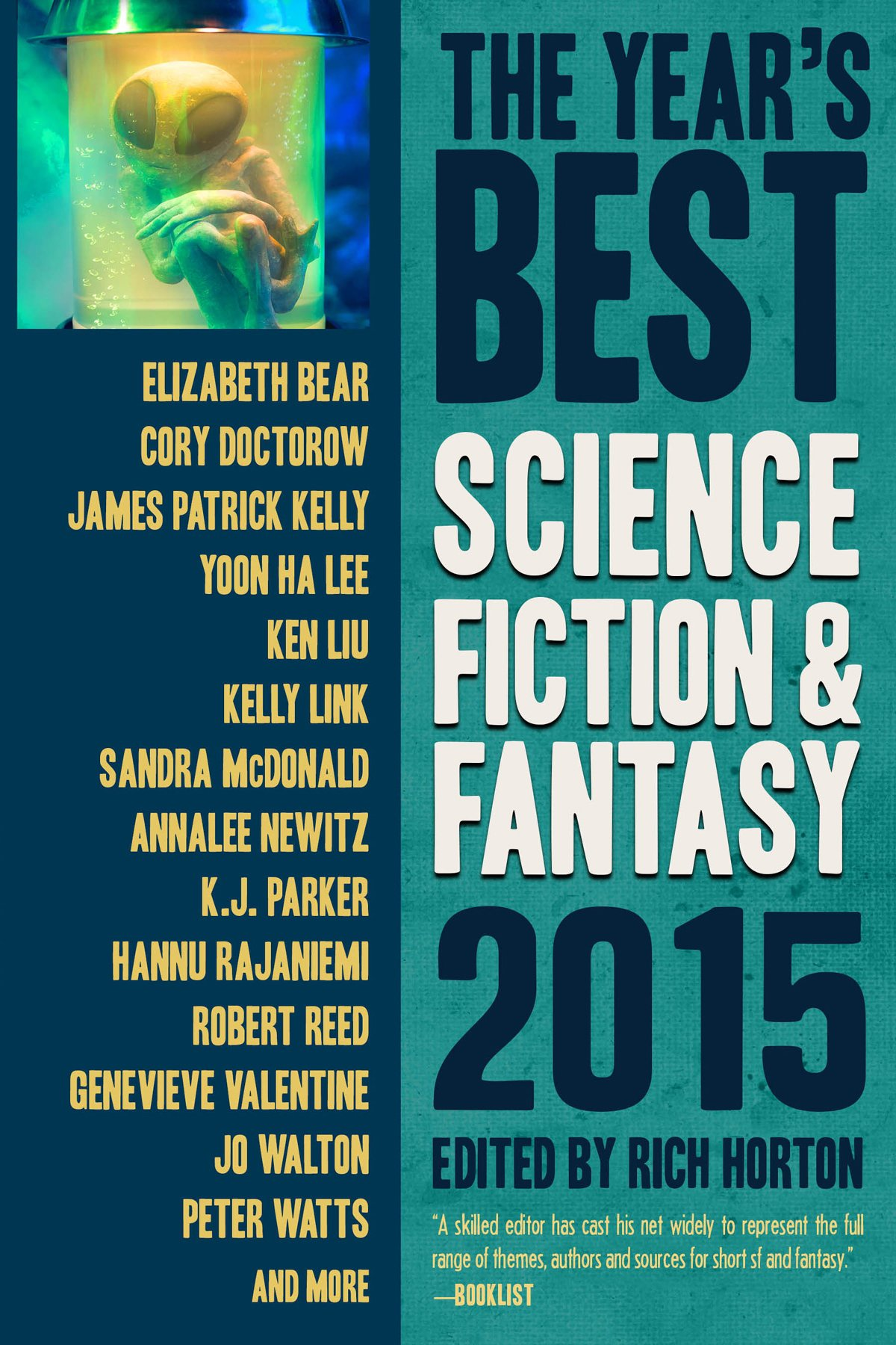 Download The Year's Best Science Fiction & Fantasy 2015 Edition (Year's Best Science Fiction and Fantasy) ebook