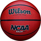 Wilson NCAA MVP Rubber Basketball, Elementary - 25.5'