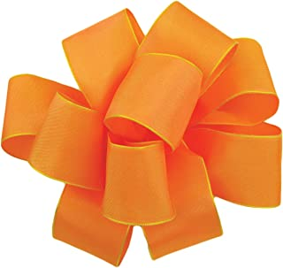 product image for Offray Wired Edge Gelato Craft Ribbon, 1-1/2-Inch Wide by 25-Yard Spool, Cantaloupe