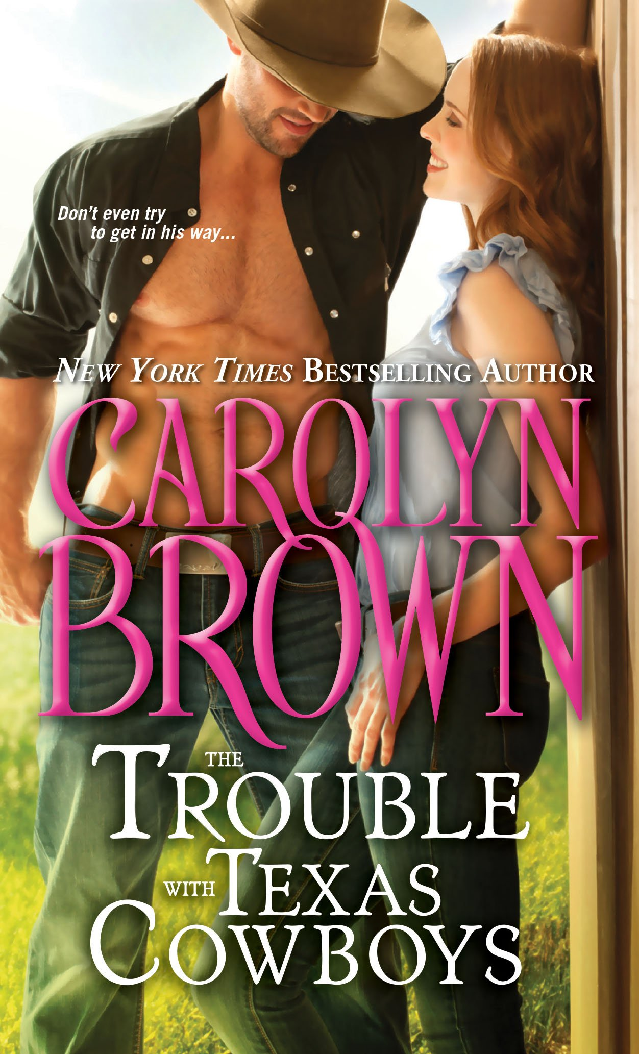 Read Online The Trouble with Texas Cowboys (Burnt Boot, Texas) pdf