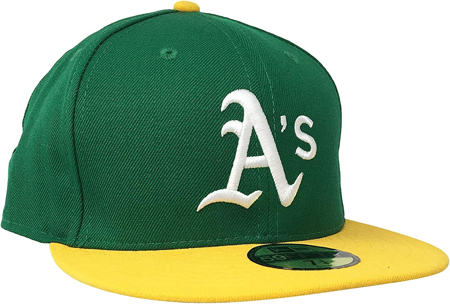 New Era Oakland Athletics 59Fifty Fitted Hat MLB Flat Bill Baseball Caps 5950