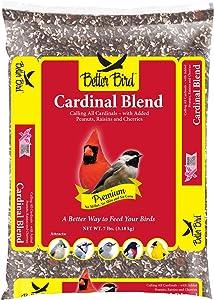Better Bird, Cardinal Premium Blend 7 lb Poly Bag, Pack of 1