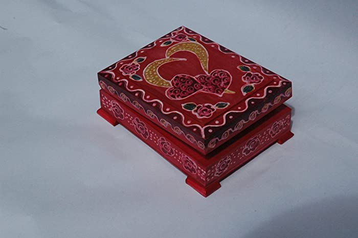 Amazon Com Sale 10 Off Heart Gift Wood Box Hand Painted Wooden