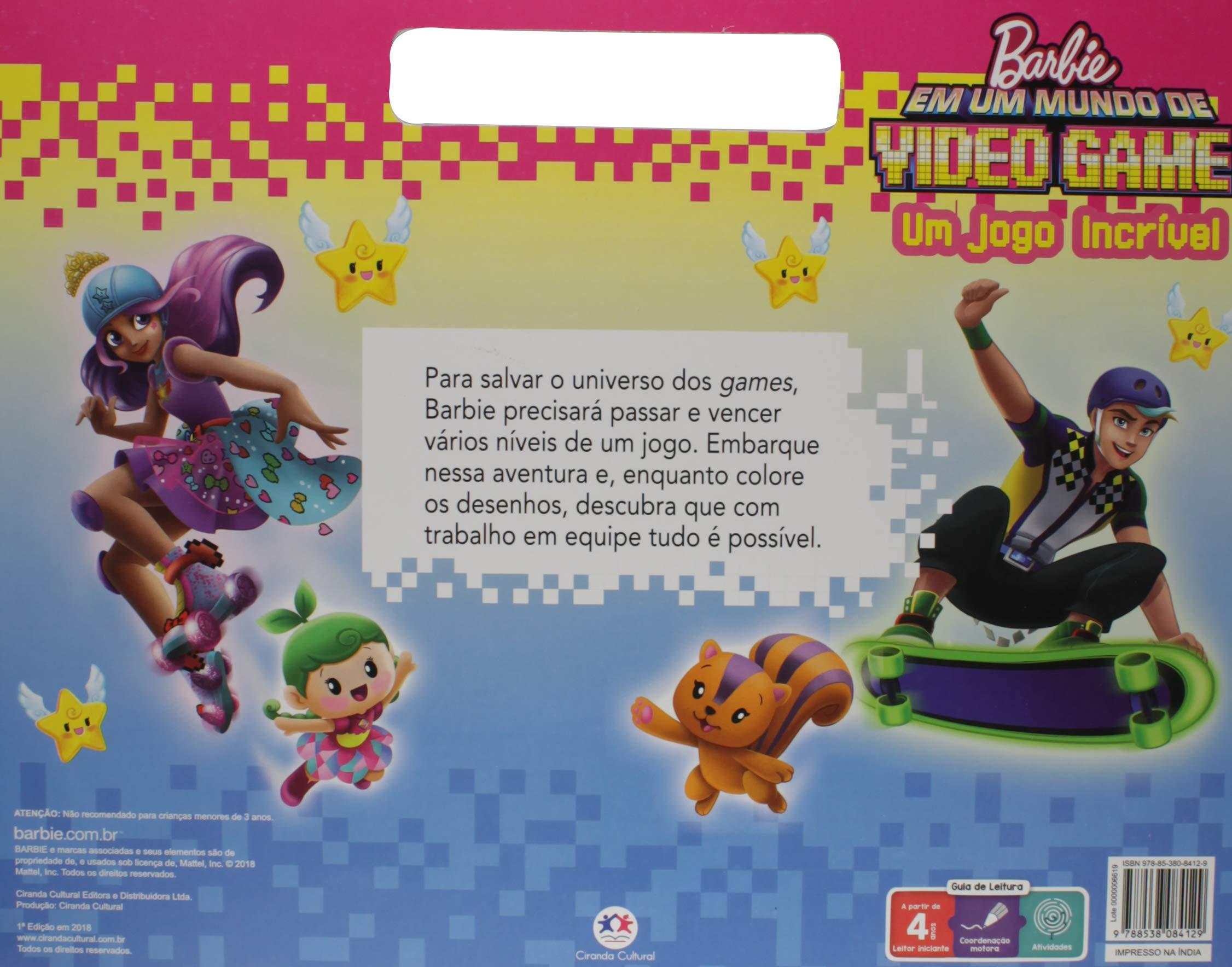 Barbie: em um Mundo de Video Game - Um Jogo Incrível ...