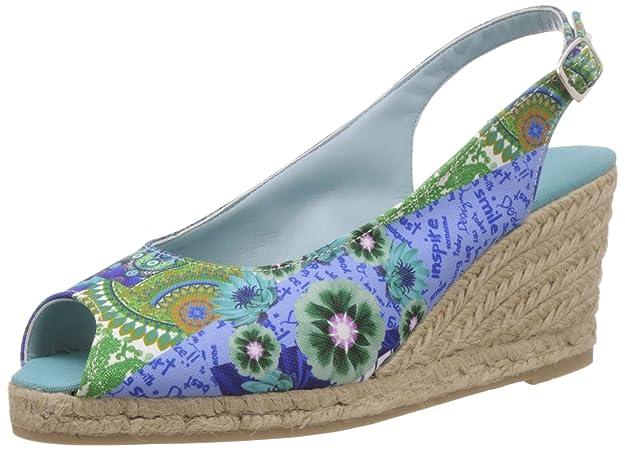 Desigual Women's Castea Fashion Sandals Fashion Sandals at amazon