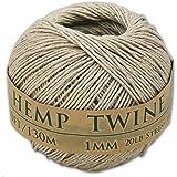 430 Feet of 1mm 100% Hemp Twine Bead Cord in Natural