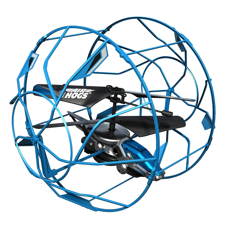 Spin Master Air Hogs -Helicóptero de juguete con control remoto (6 x AA), colores aleatorios