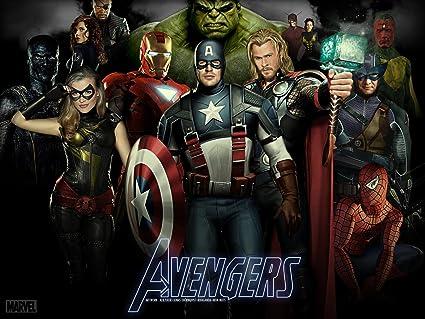 Posterhouzz Movie The Avengers Hd Wallpaper Background Fine Art