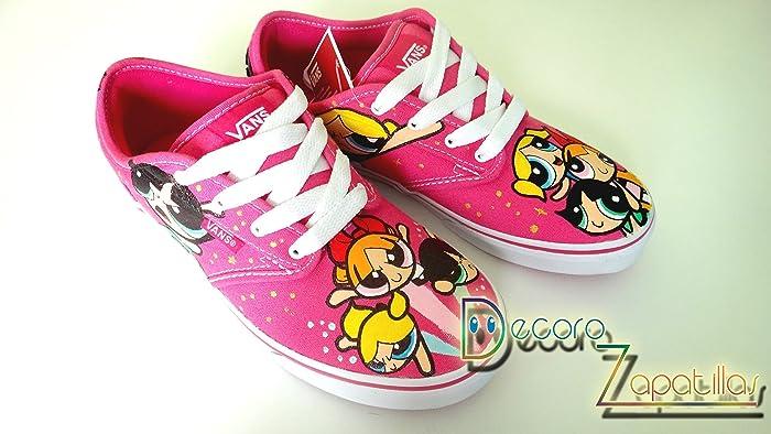Vans zapatillas personalizadas pintadas a mano Supernenas -regalos de Navidad - regalos para ella -