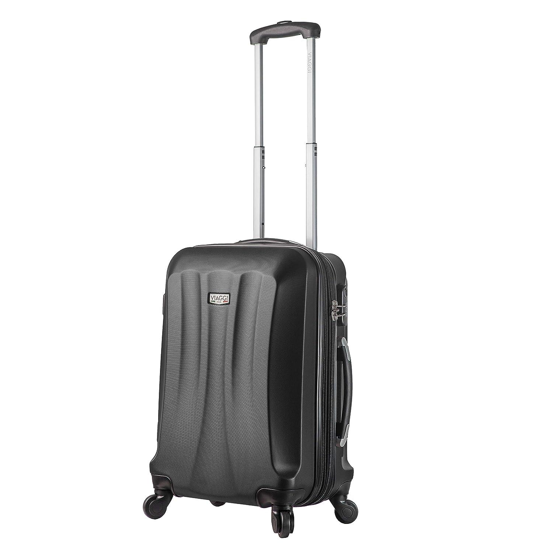 Viaggi, V1010-20IN-BLKL 機内持ち込み手荷物, ブラック, One Size B07N1H1D7N