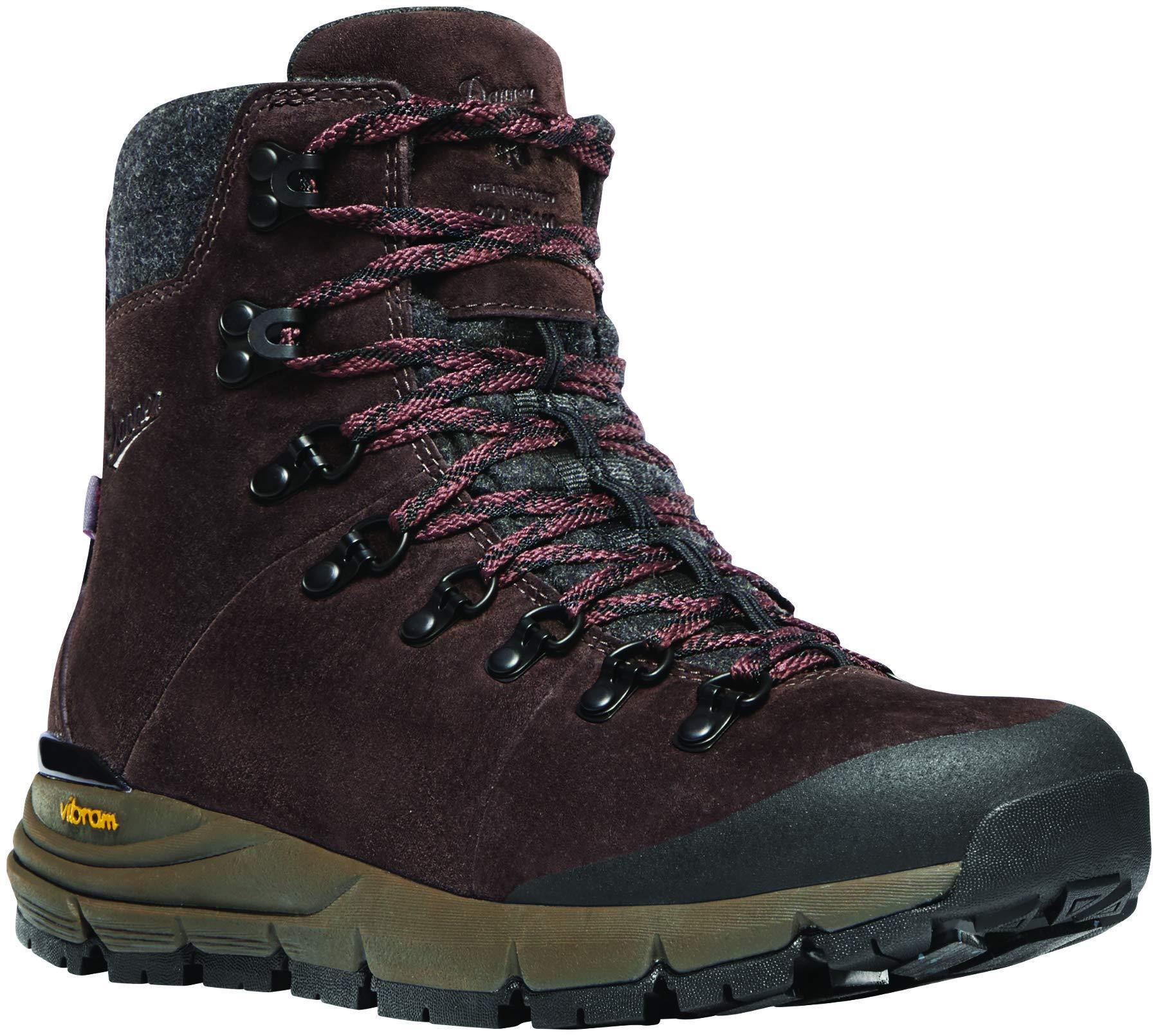 Danner Women's 67333 Arctic 600 Side-Zip 5'' Waterproof 200G Hiking Boot, Plum - 5 M by Danner