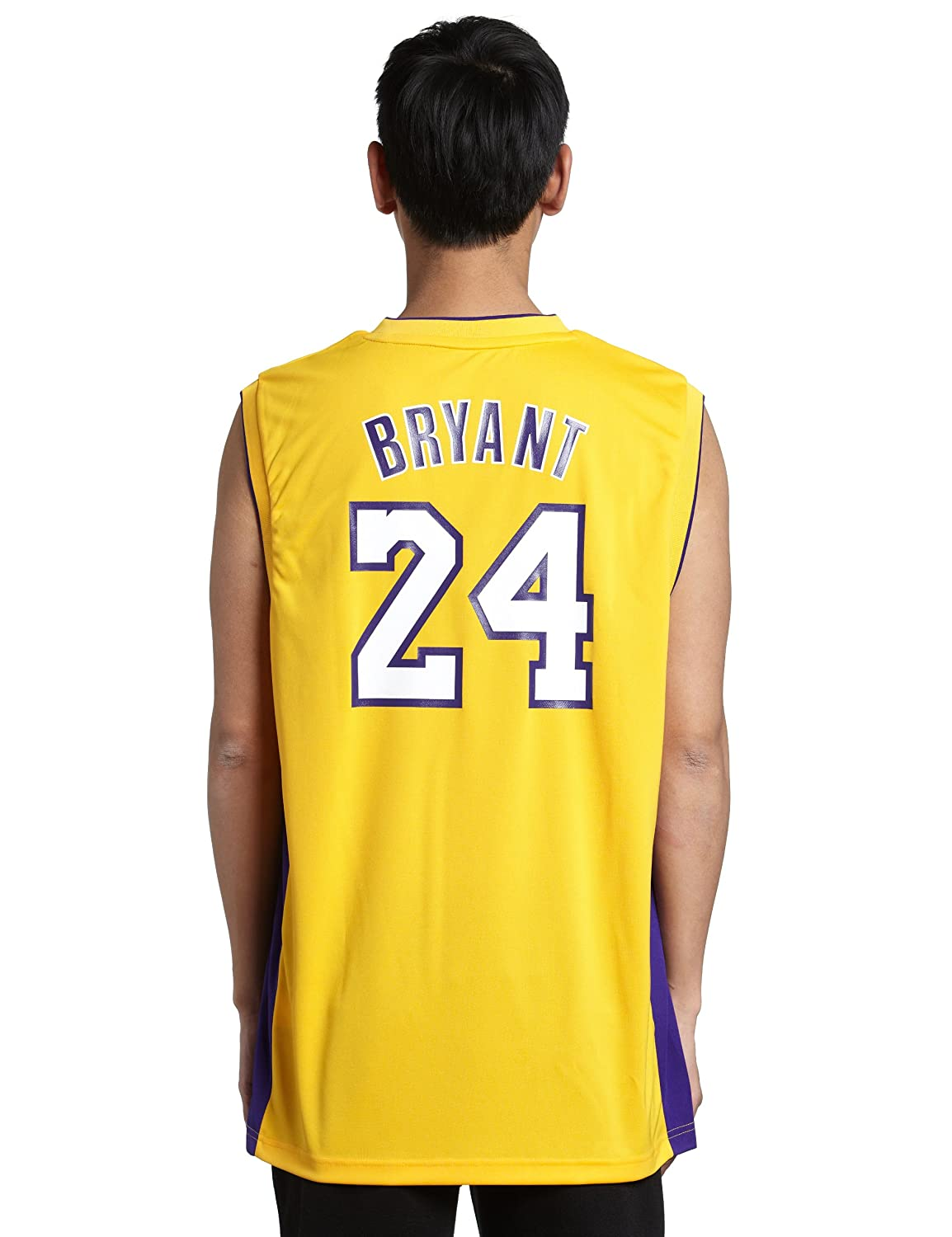 697457036be2 ... Amazon.com NBA Los Angeles Lakers Kobe Bryant Revolution 30 Home Replica  Jersey H Size adidas ...
