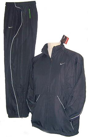 aad853d323f Nike Herren Shox Woven Suit Jacke und Hose Trainingsanzug Anzug schwarz