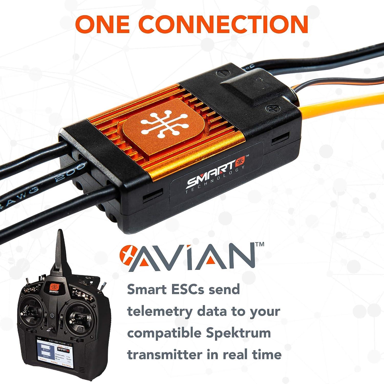 Spektrum Avian 60 Amp Brushless Smart ESC SPMXAE1060 3S-6S