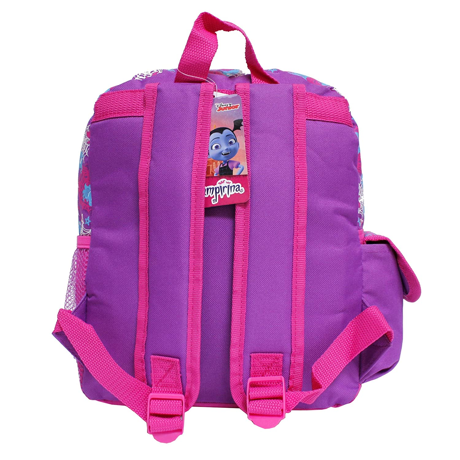 Amazon.com | Disney Junior Vampirina Shiny Pink & Purple Small Girls School Backpack | Kids Backpacks