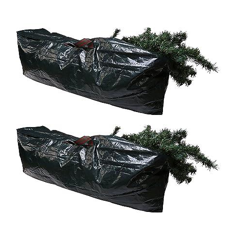 Qualtex 2 bolsas de almacenamiento para árbol de Navidad artificiales – árboles de hasta 1,