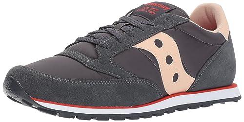Saucony Jazz Low Pro, Zapatillas de Running para Hombre, Gris (Charcoal/Tan), 43 EU: Amazon.es: Zapatos y complementos