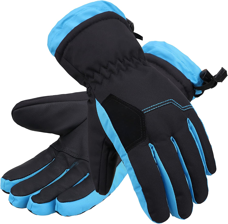 Lullaby Kids Ski Gloves Insulation Waterproof Windproof Winter Mittens M
