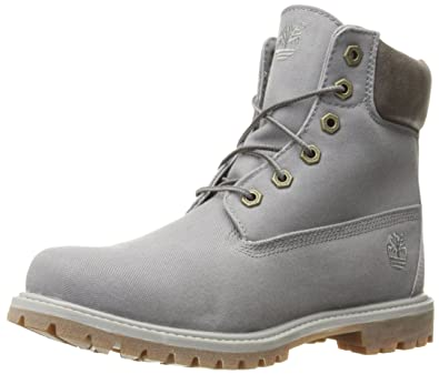 bf328fe547e1 Timberland Womens Womens 6 Inch Premium Boots in Grey - UK 6.5 ...