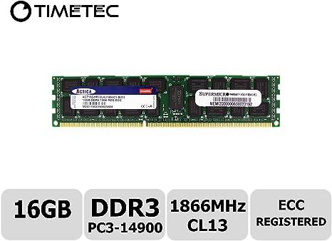 Hynix 16GB PC3-14900R DDR3-1866Mhz 1.5V 240Pin RDIMM REG Server Memory Ram