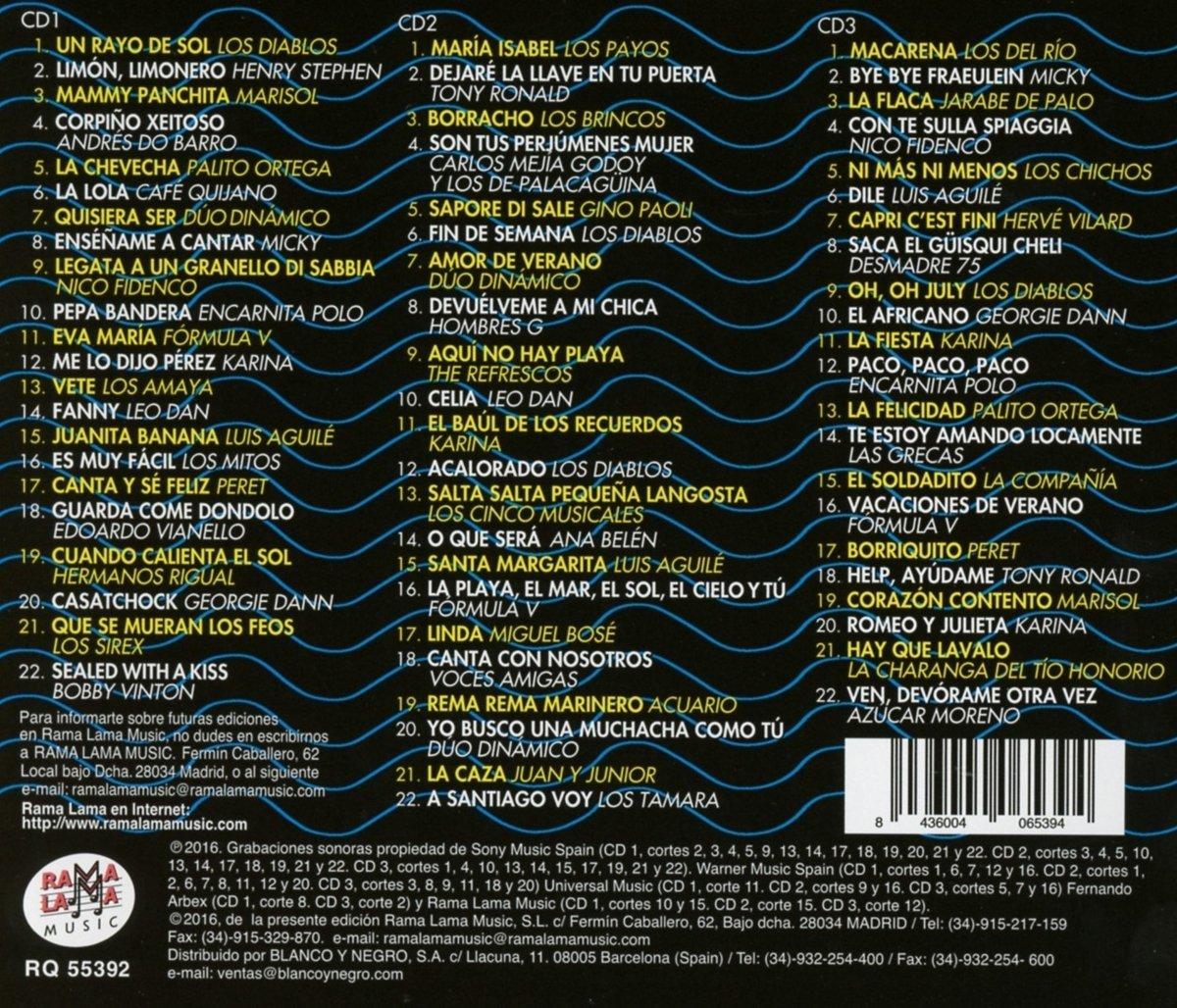 Las 66 Favoritas De Inigo Y Pardo Vol 11 Canciones - Las 66 Favoritas De Inigo Y Pardo Vol 11 Canciones Para El Verano /Various - Amazon.com Music